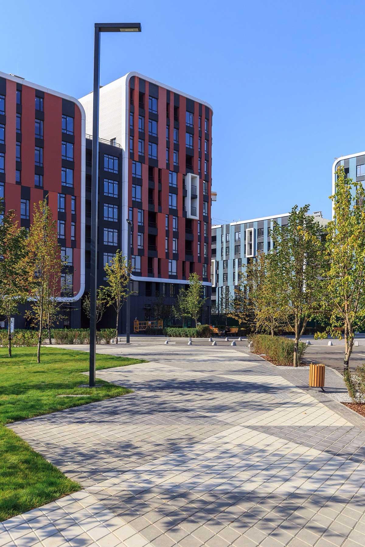 Озеленение объектов коммерческой недвижимости 1