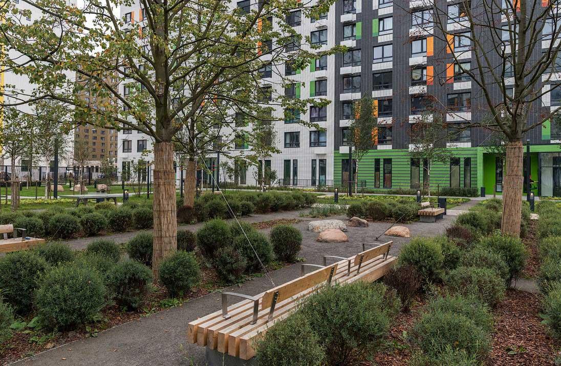 Озеленение объектов коммерческой недвижимости 2