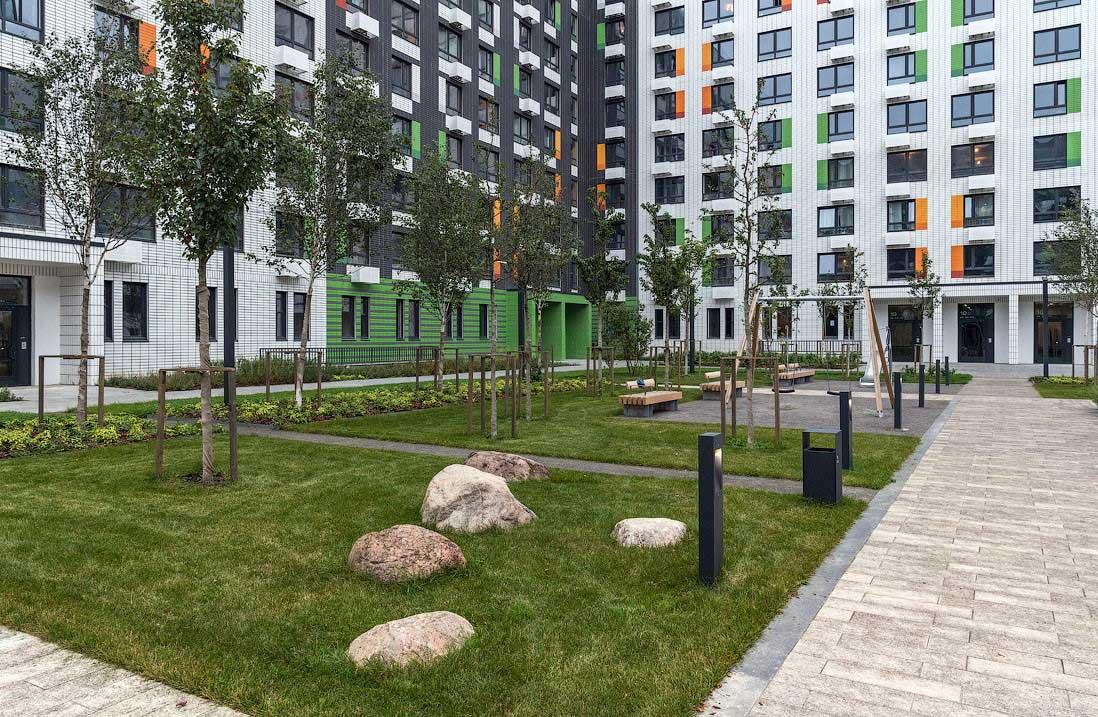 Озеленение объектов коммерческой недвижимости 3