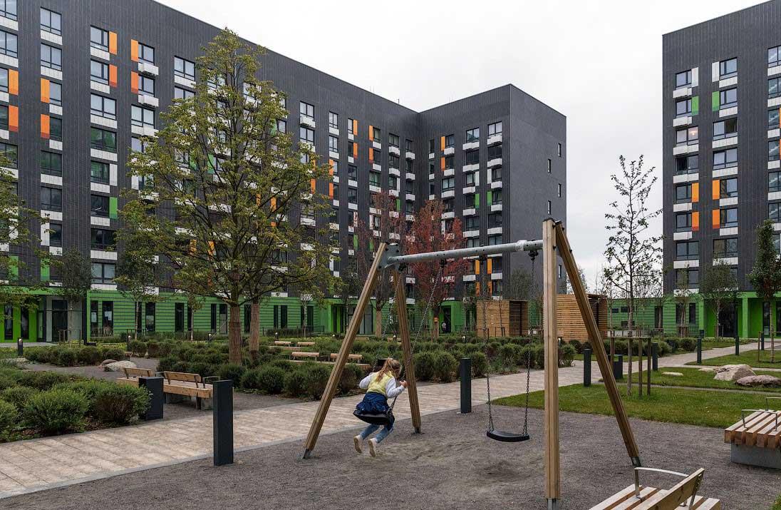 Озеленение объектов коммерческой недвижимости 4
