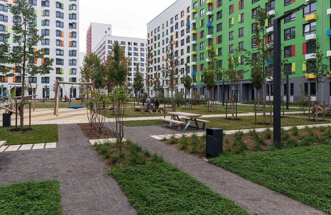 Озеленение объектов коммерческой недвижимости 5
