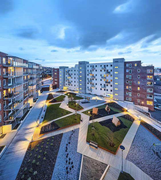 Озеленение объектов коммерческой недвижимости 6
