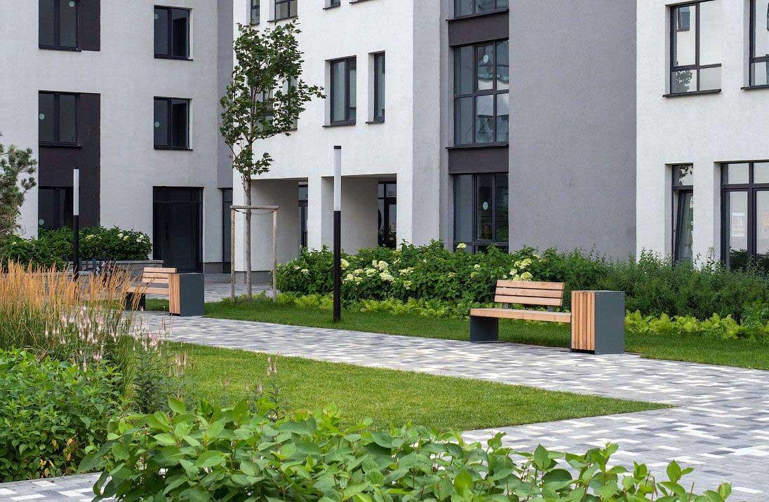 Озеленение объектов коммерческой недвижимости 7